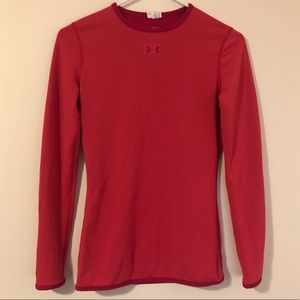 Under Armour Women's Small Long Sleeve Pink Top